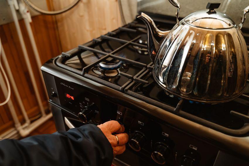 В дома жителей деревни Башарино Кимрского района пришло голубое топливо