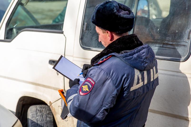 В Тверской области занесло автомобиль, и он врезался в другую машину
