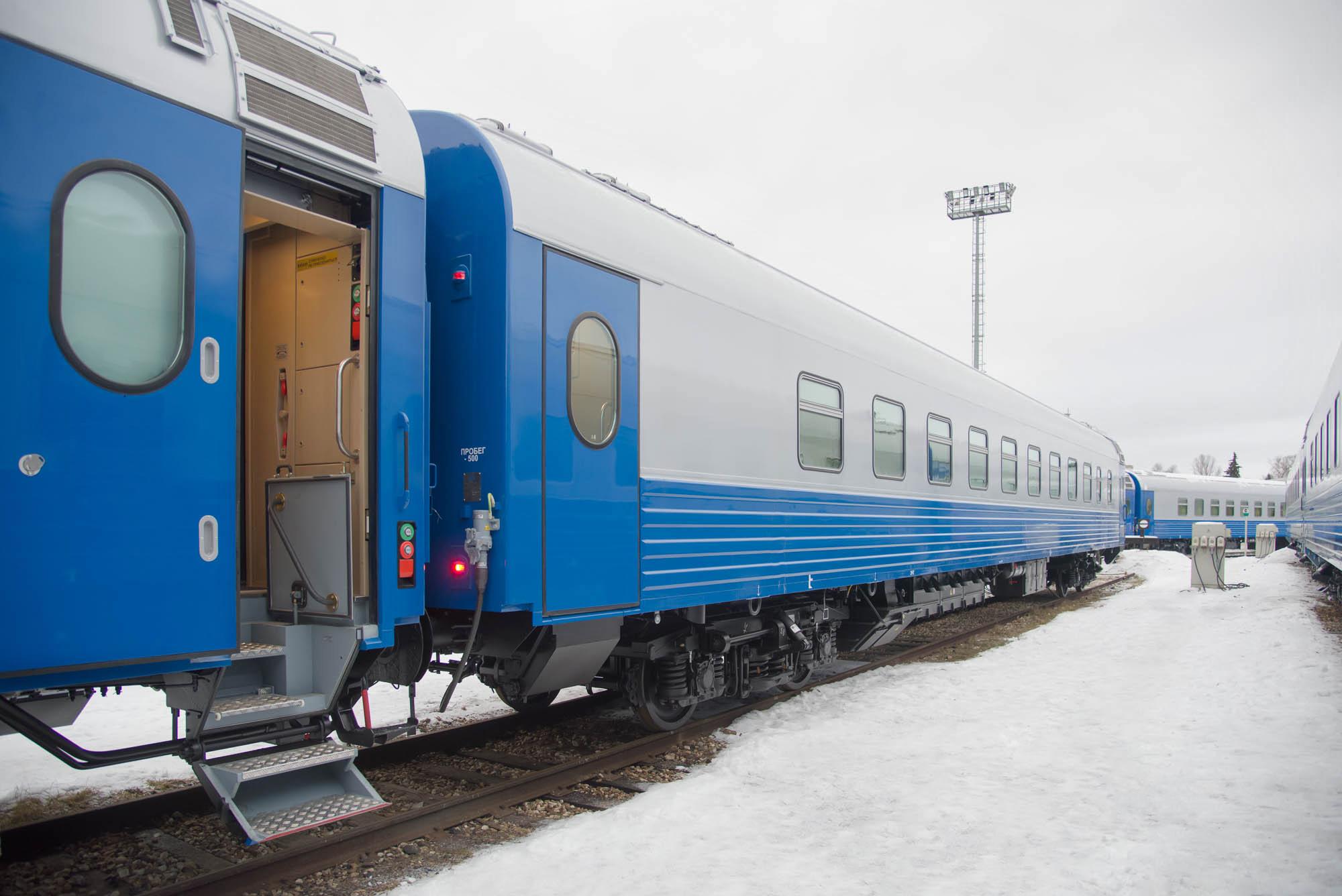Больше 200 вагонов отправили в Казахстан с Тверского вагоностроительного завода