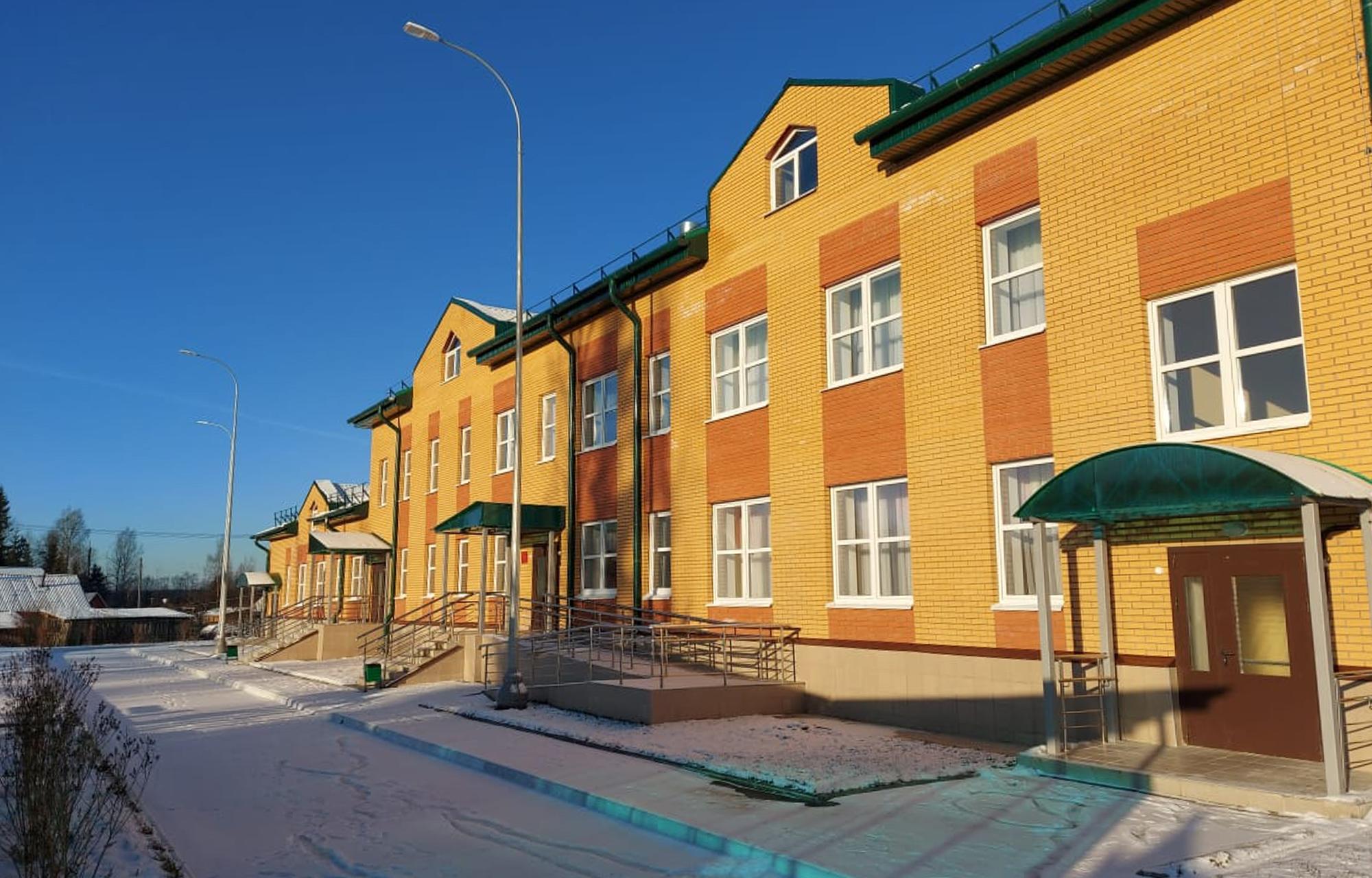 В Максатихинском районе появился современный детский сад