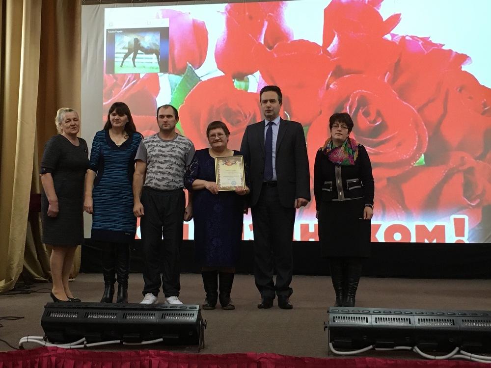 В Жарковском районе прошел фестиваль для людей с ограниченными возможностями