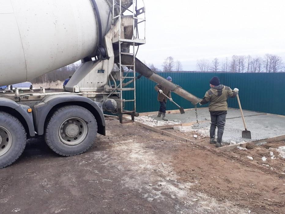 В Тверской области сельские жители обустроили площадку под сбор мусора