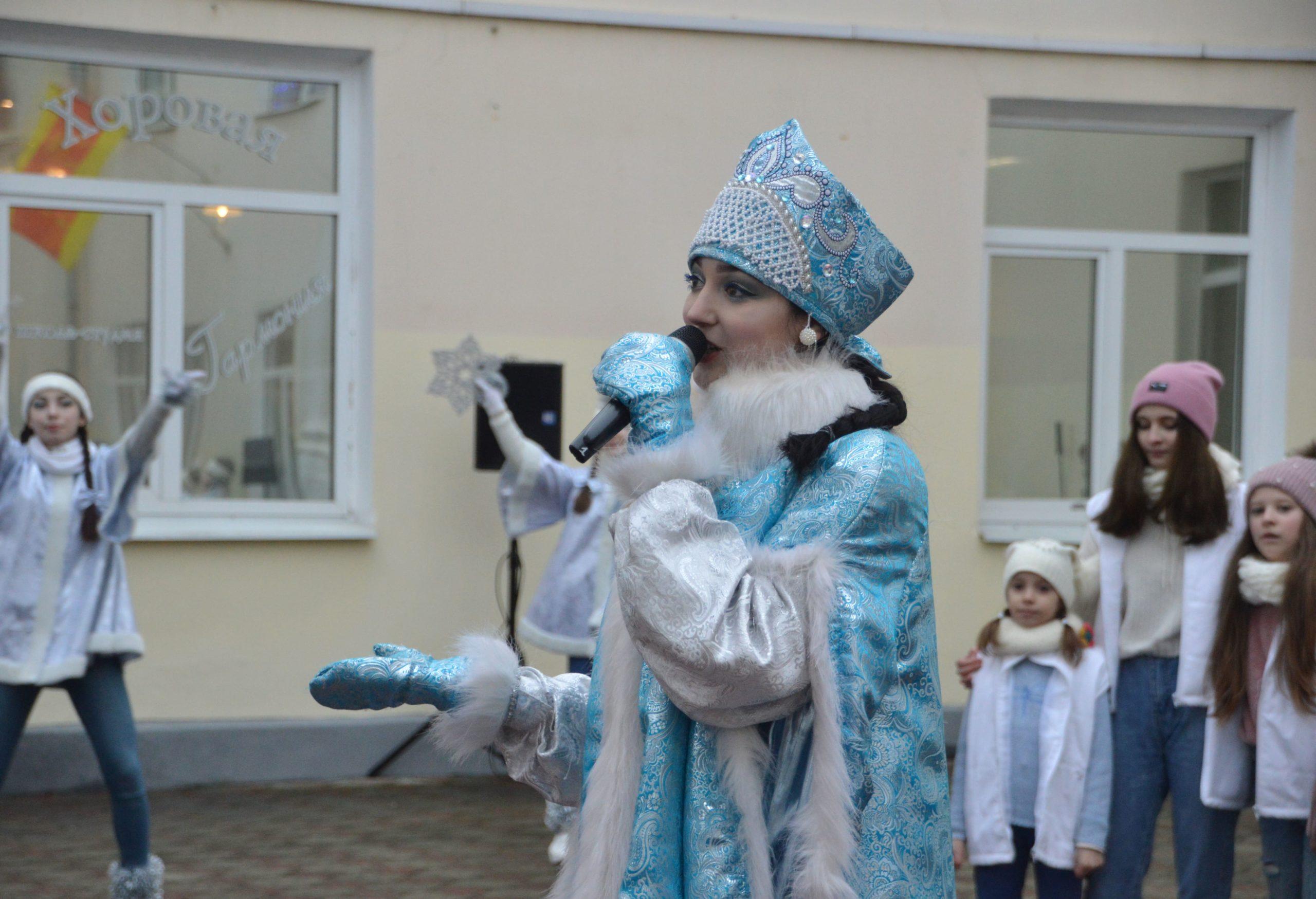 В Твери был замечен настоящий зимний волшебник