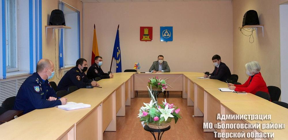 В одном из районов Тверской области прошло совещание с представителями ведомств