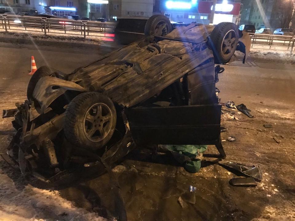 Стали известны подробности серьезной аварии на улице Паши Савельевой в Твери