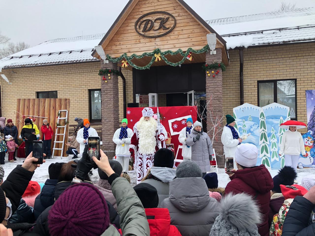 Великоустюгский Дед Мороз посетил Тверскую область