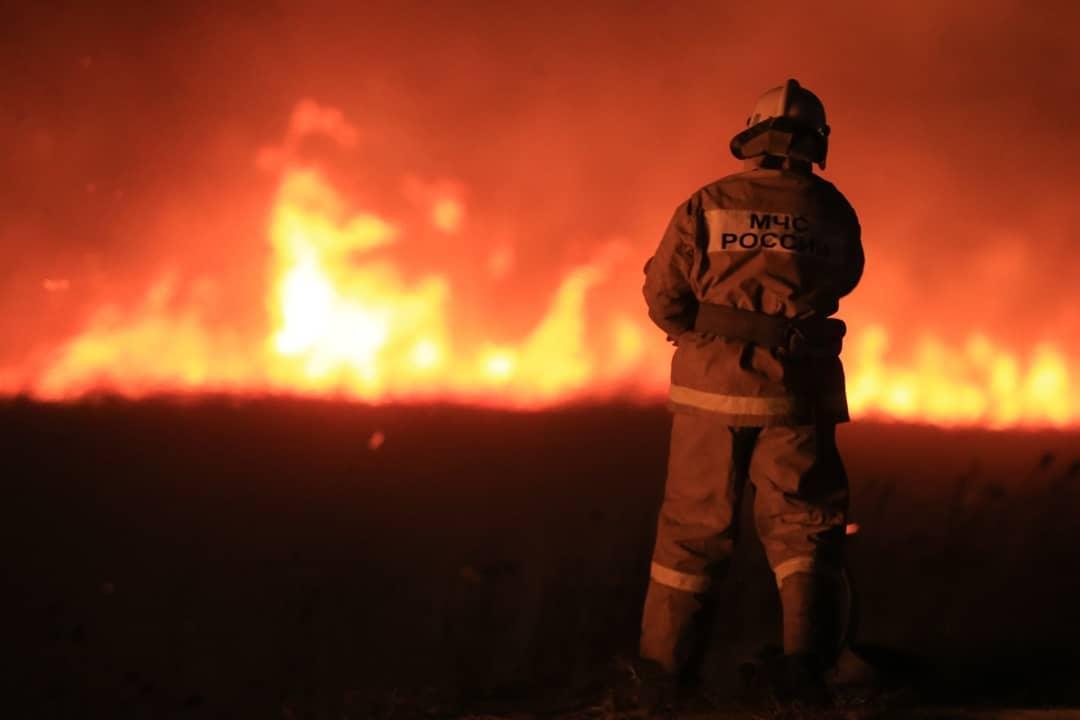 На пожаре в Тверской области погибла пожилая женщина