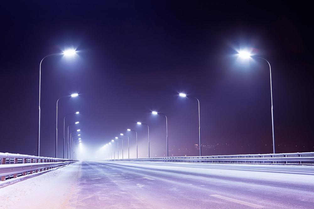 В Тверской области на М-10 установят новые светодиодные фонари