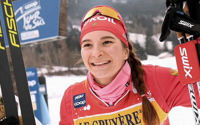 Тверская спортсменка заняла третье место чемпионата по лыжным гонкам в Давосе