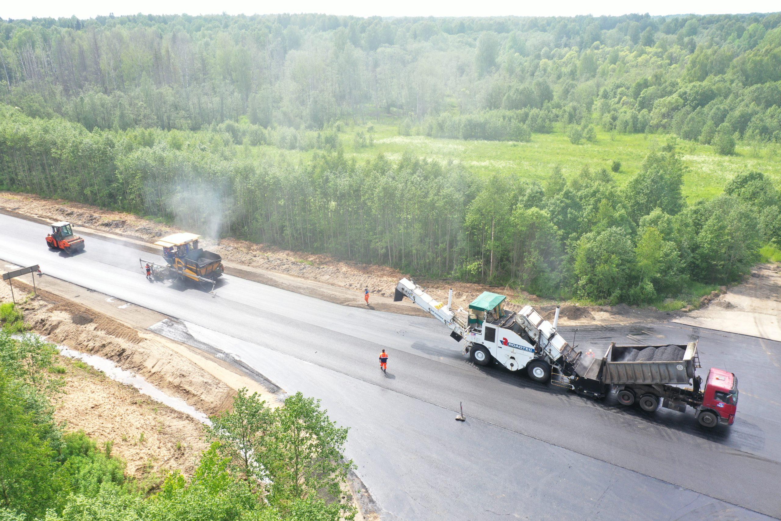 До 2023 года в Тверской области отремонтируют еще 146 километров  дороги Тверь - Устюжна