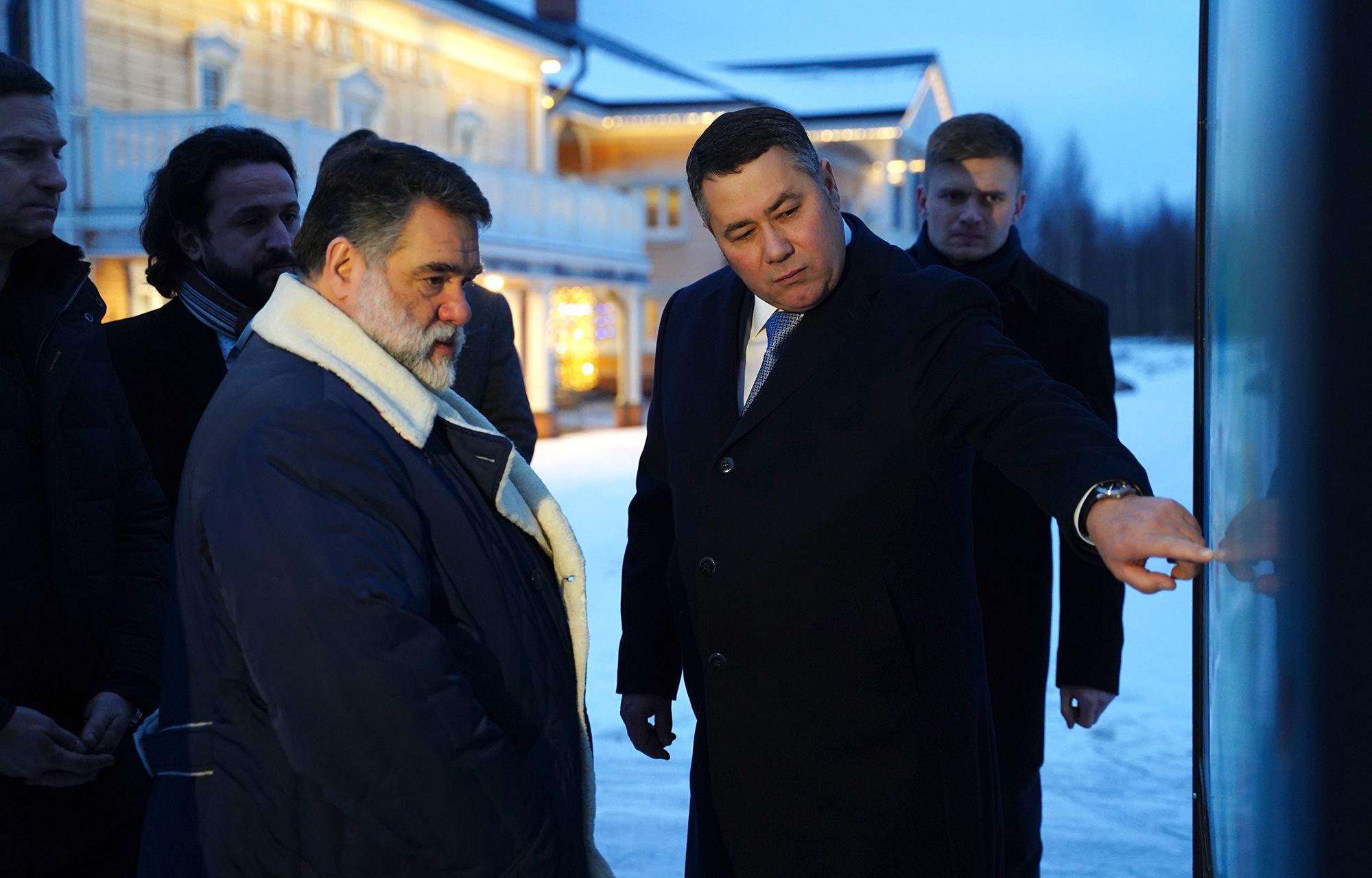 Игорь Руденя и Михаил Куснирович обсудили реализацию нового инвестпроекта на территории ОЭЗ «Завидово»