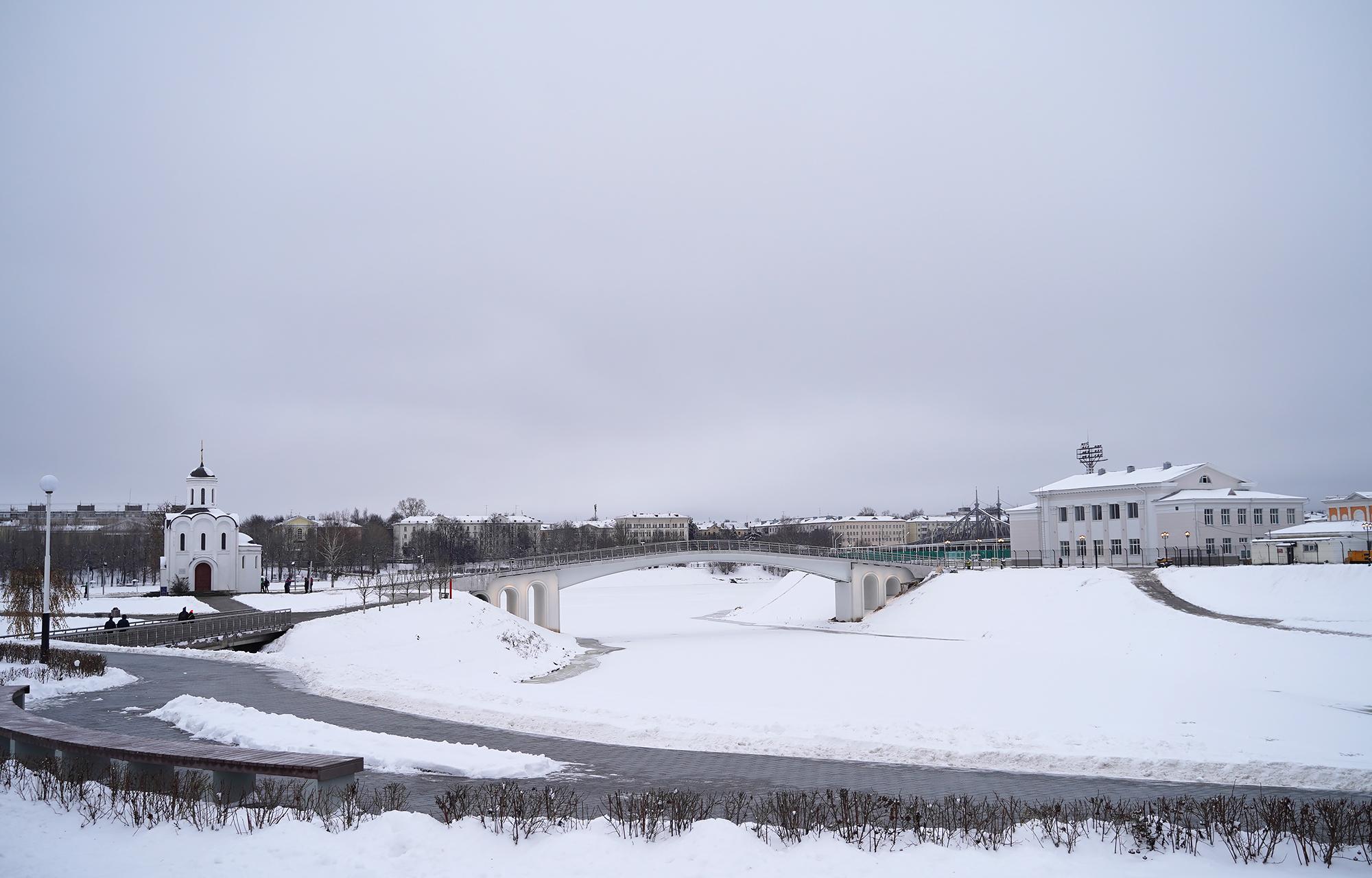 Игорь Руденя проинспектировал завершение строительства моста через Тьмаку в Твери