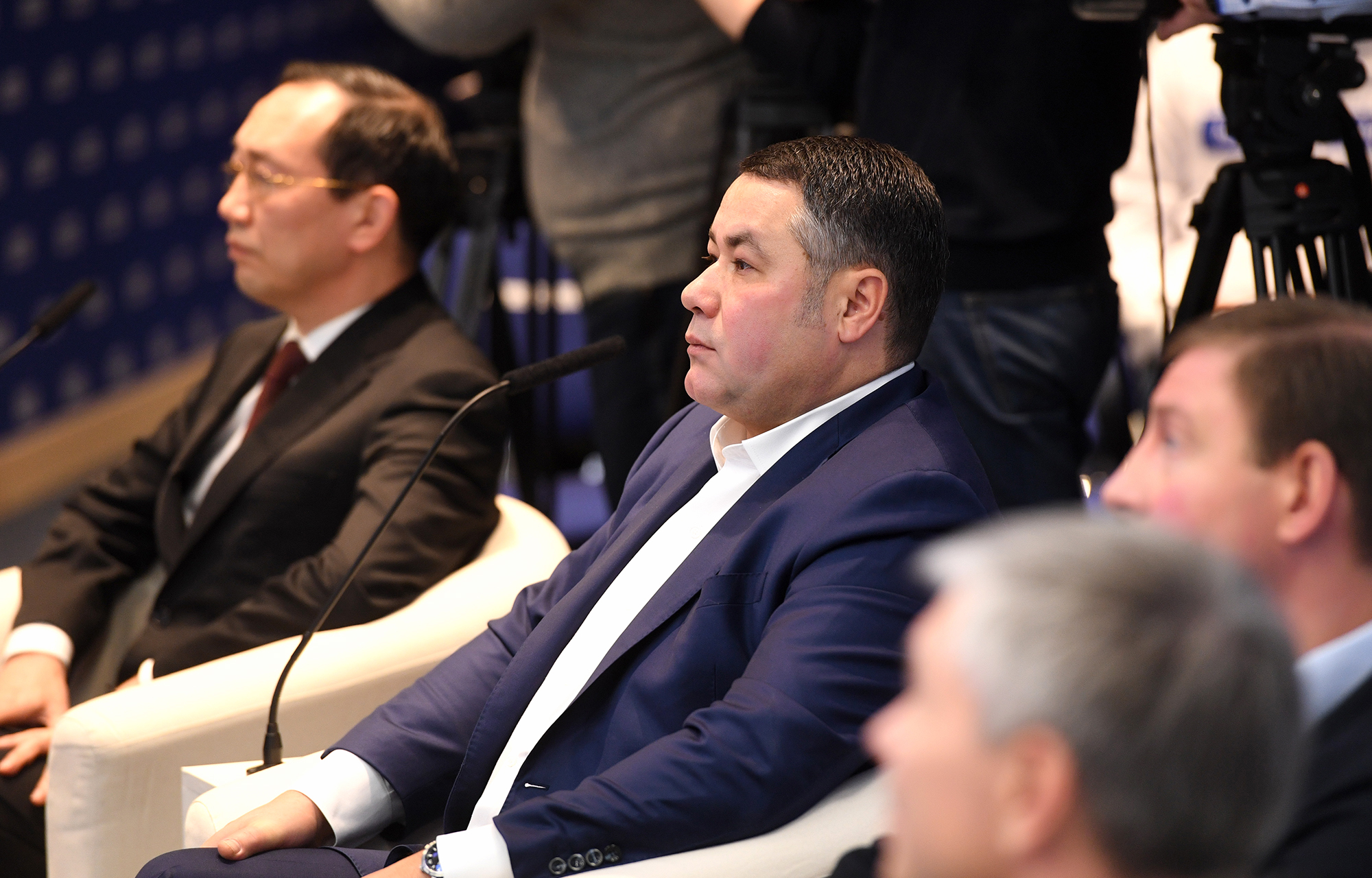 Игорь Руденя принял участие в социальном онлайн-форуме партии «Единая Россия»