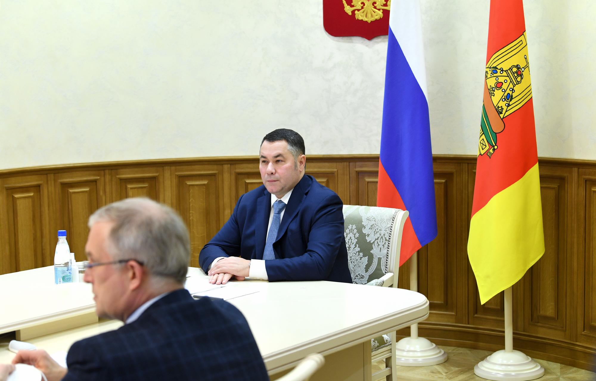 Игорь Руденя поблагодарил медиков Тверской области за работу в уходящем году