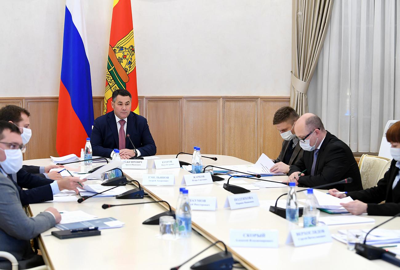 Игорь Руденя поручил выполнить задачи, поставленные президентом Владимиром Путиным
