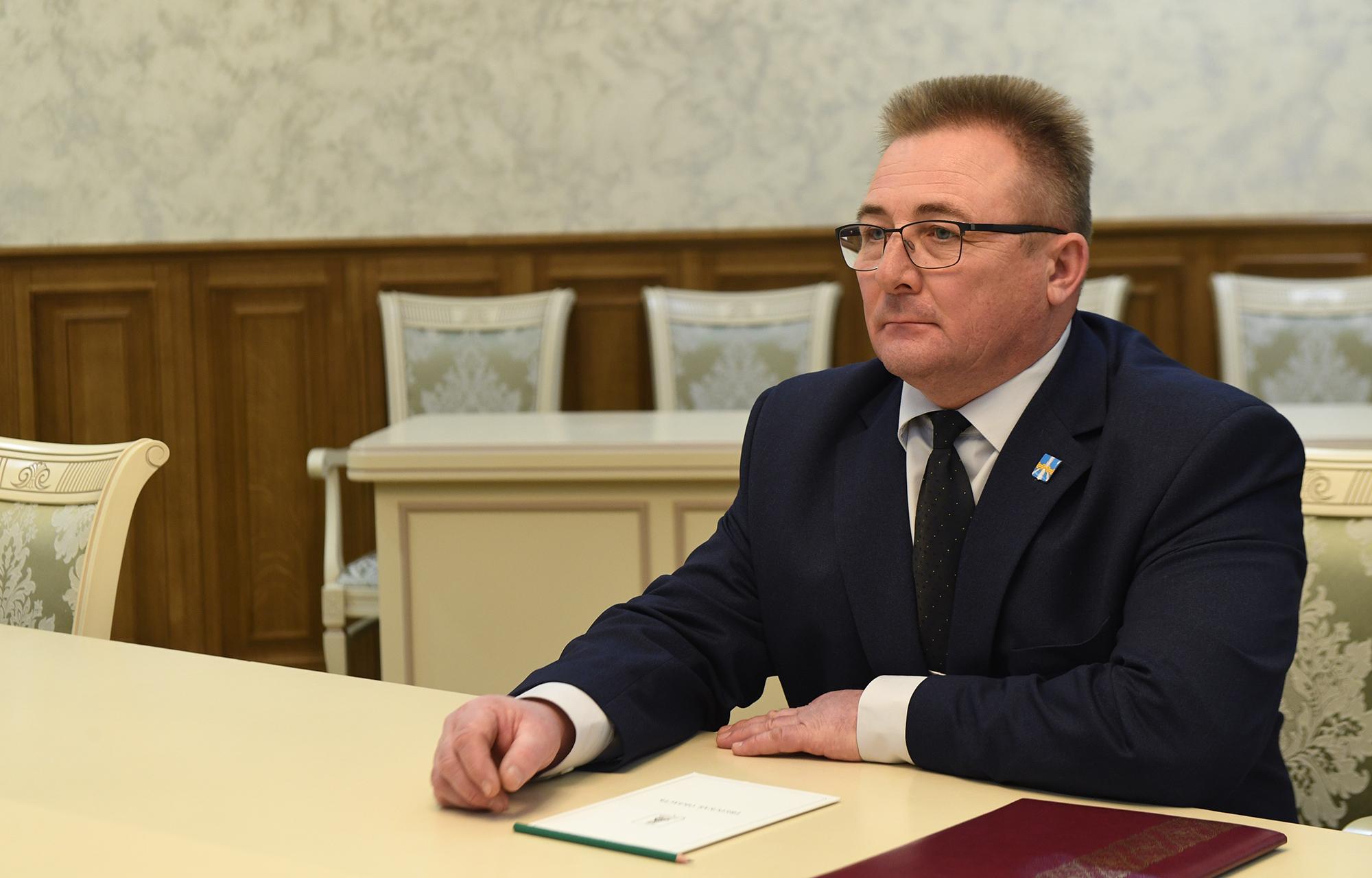 Игорь Руденя провел встречу с главой Селижаровского муниципального округа
