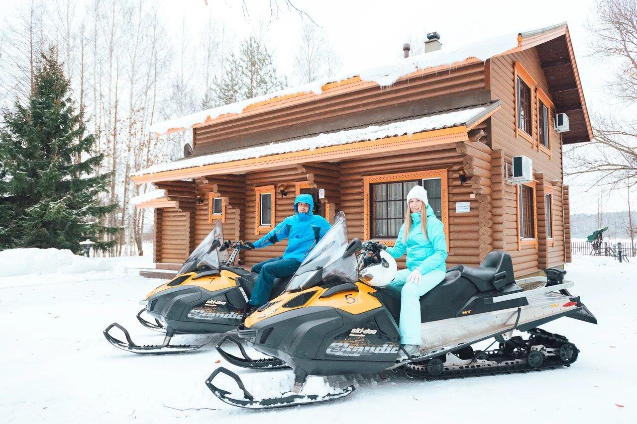 Комплекс отдыха «Завидово» предлагает окунуться в атмосферу русской зимы