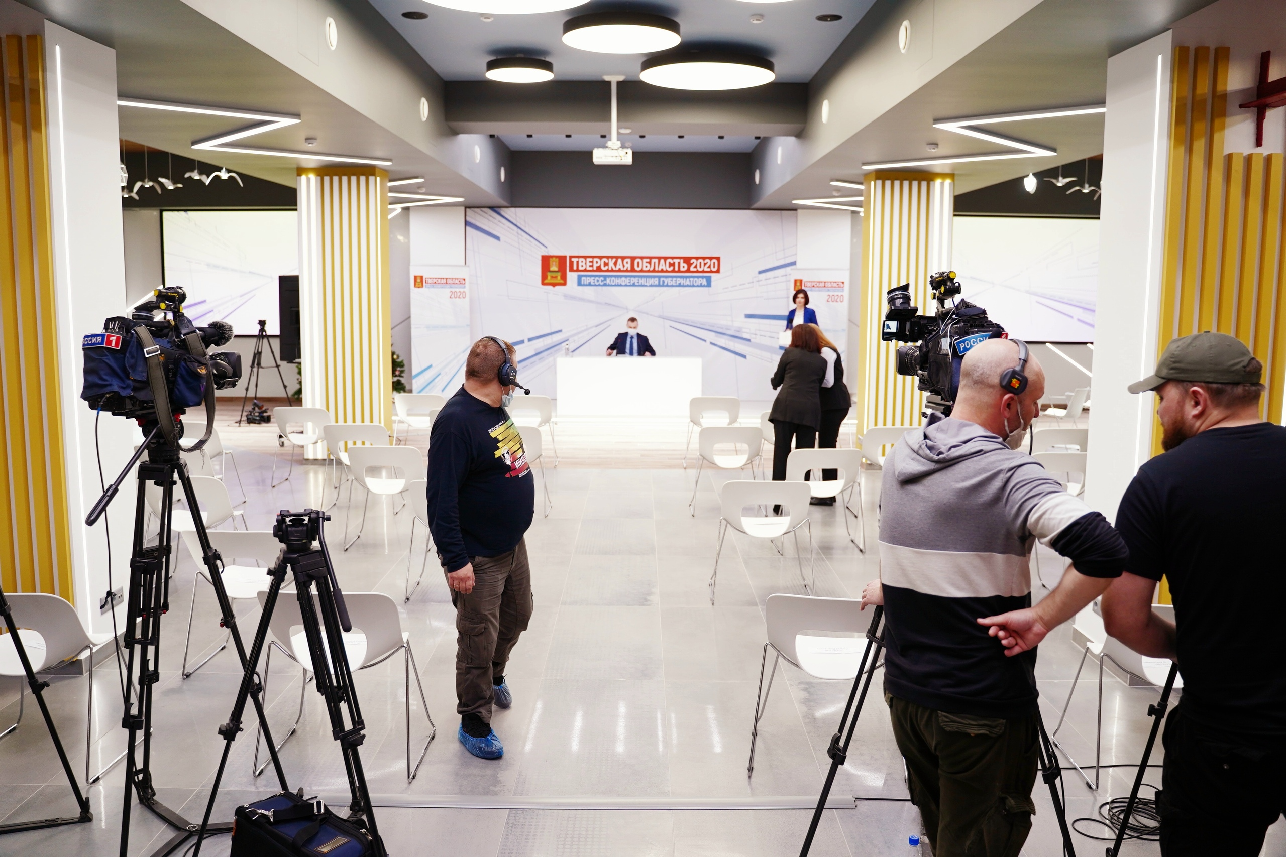 Тверские журналисты начали готовиться к пресс-конференции с губернатором
