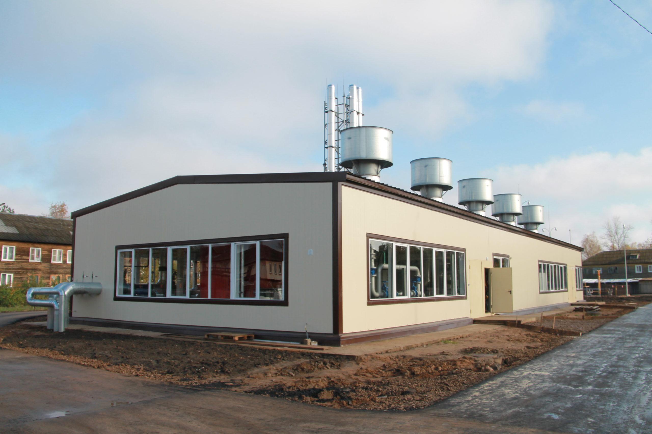 В Нелидовском районе работает новая котельная
