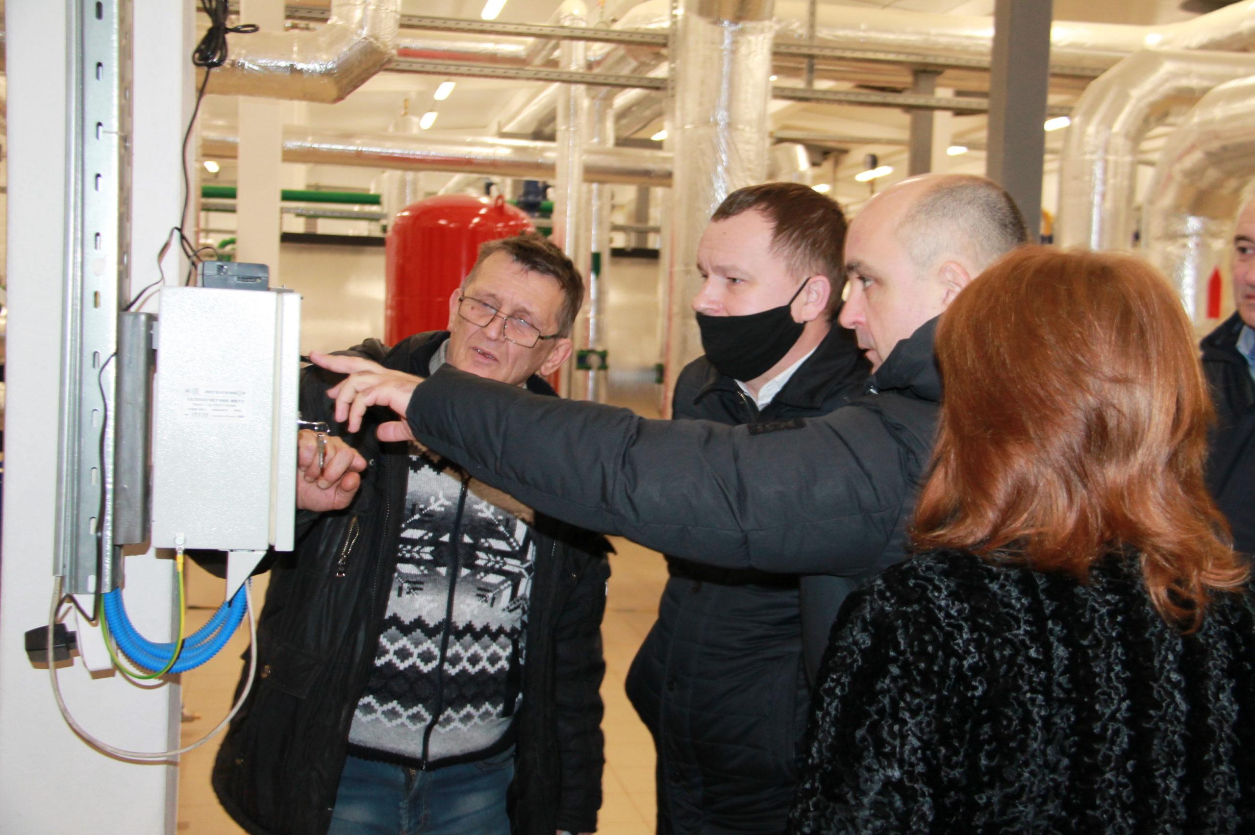 Министр энергетики и ЖКХ Тверской области Александр Цветков посетил Нелидово