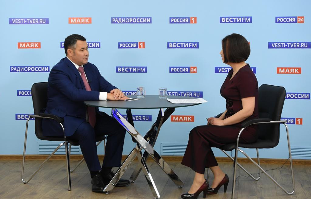 Губернатор назвал стабильной ситуацию с коронавирусом в Тверской области