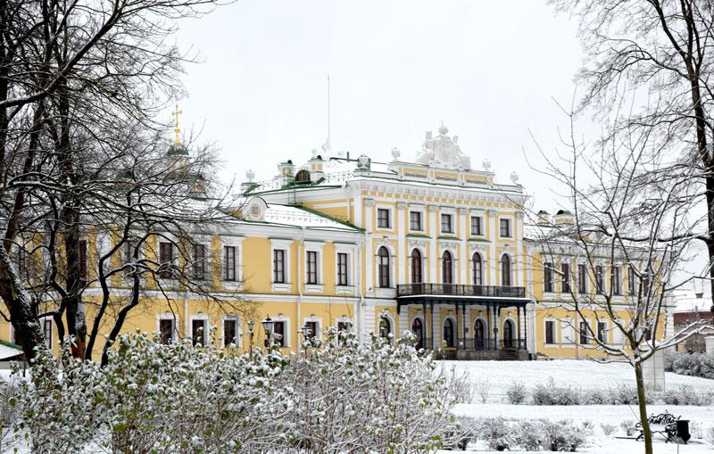Сад Тверского императорского дворца откроется с 23 декабря по 10 января
