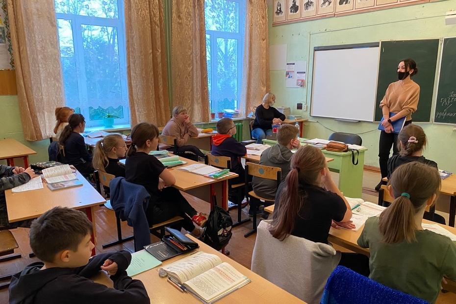 Школьникам Лихославльского района напомнили о правилах безопасности
