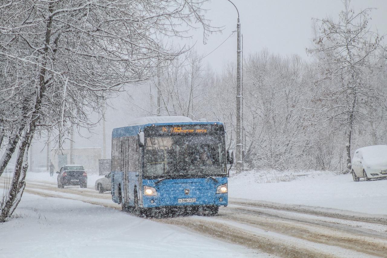 """В новогоднюю ночь в Твери будут работать два маршрута """"Транспорта Верхневолжья"""""""
