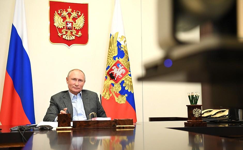 Президент России Владимир Путин отметил красоту Тверской области