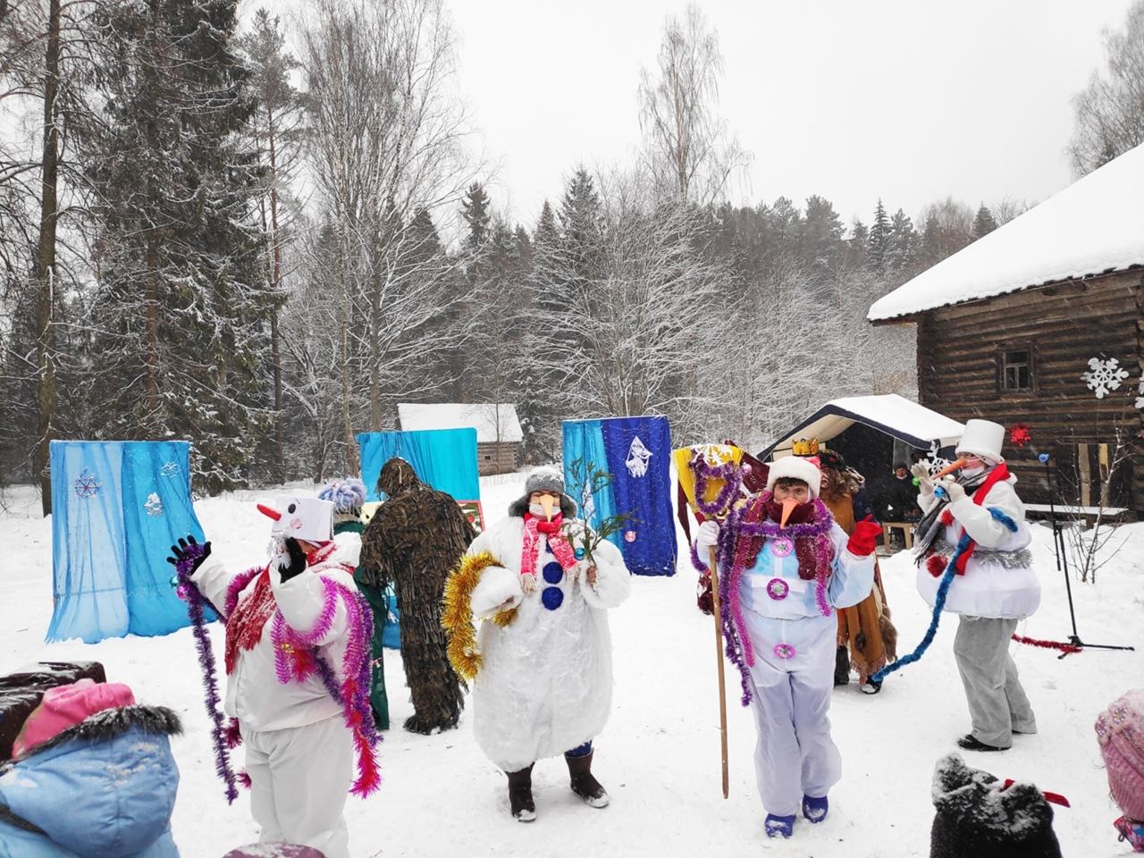 Жителей Тверской области приглашают на новогодние гуляния в Василево