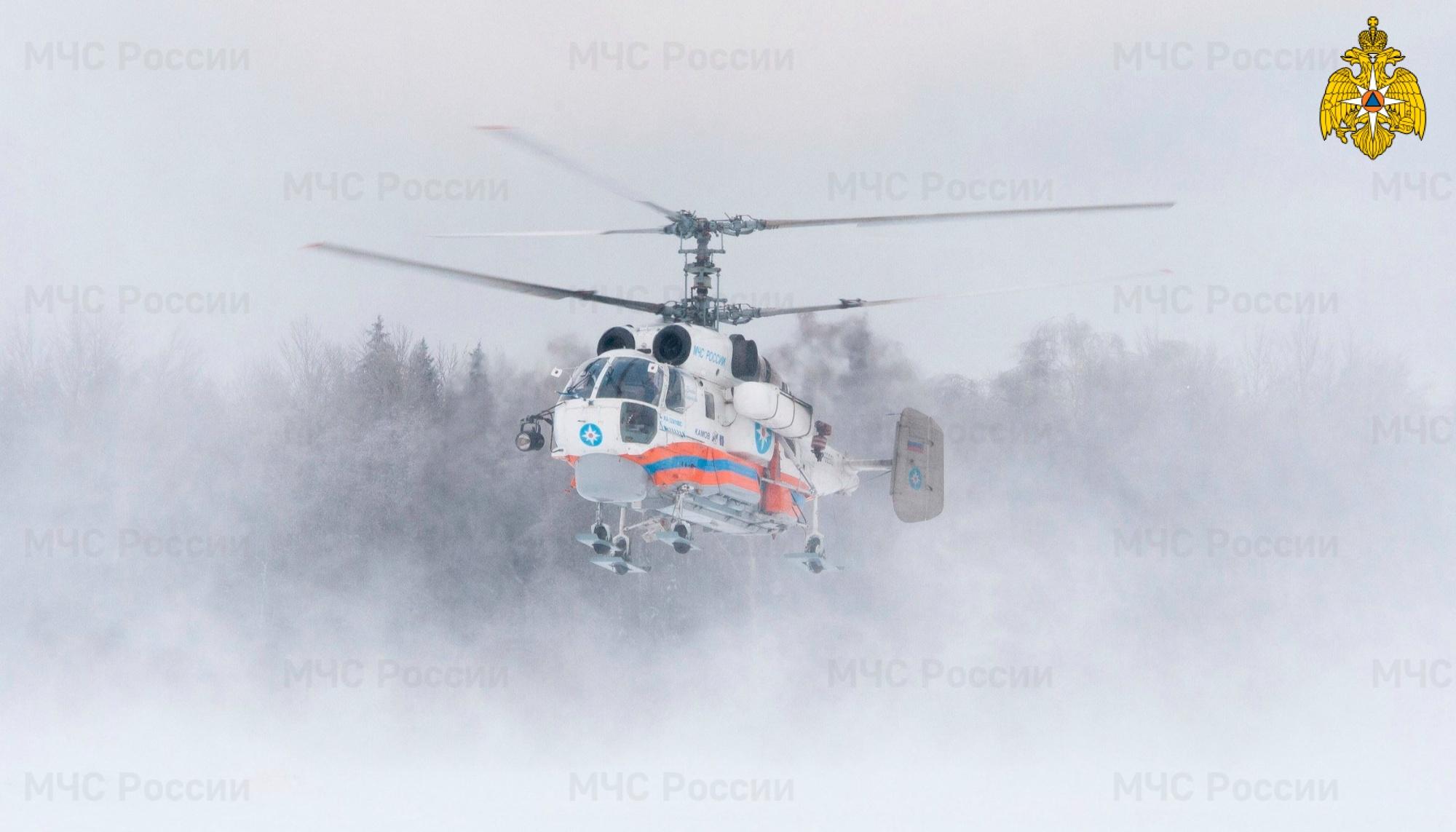 Вертолет санавиации доставил в Тверь тяжелобольного мужчину