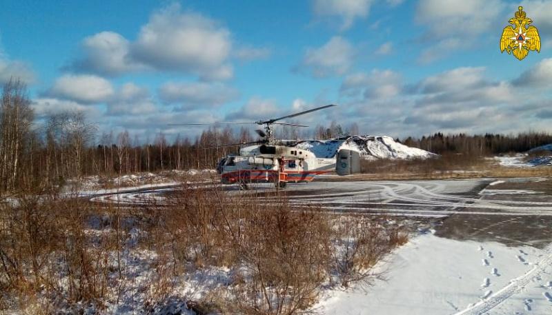 В Тверской области на вертолете МИ-8 пациента экстренно доставили в ОКБ