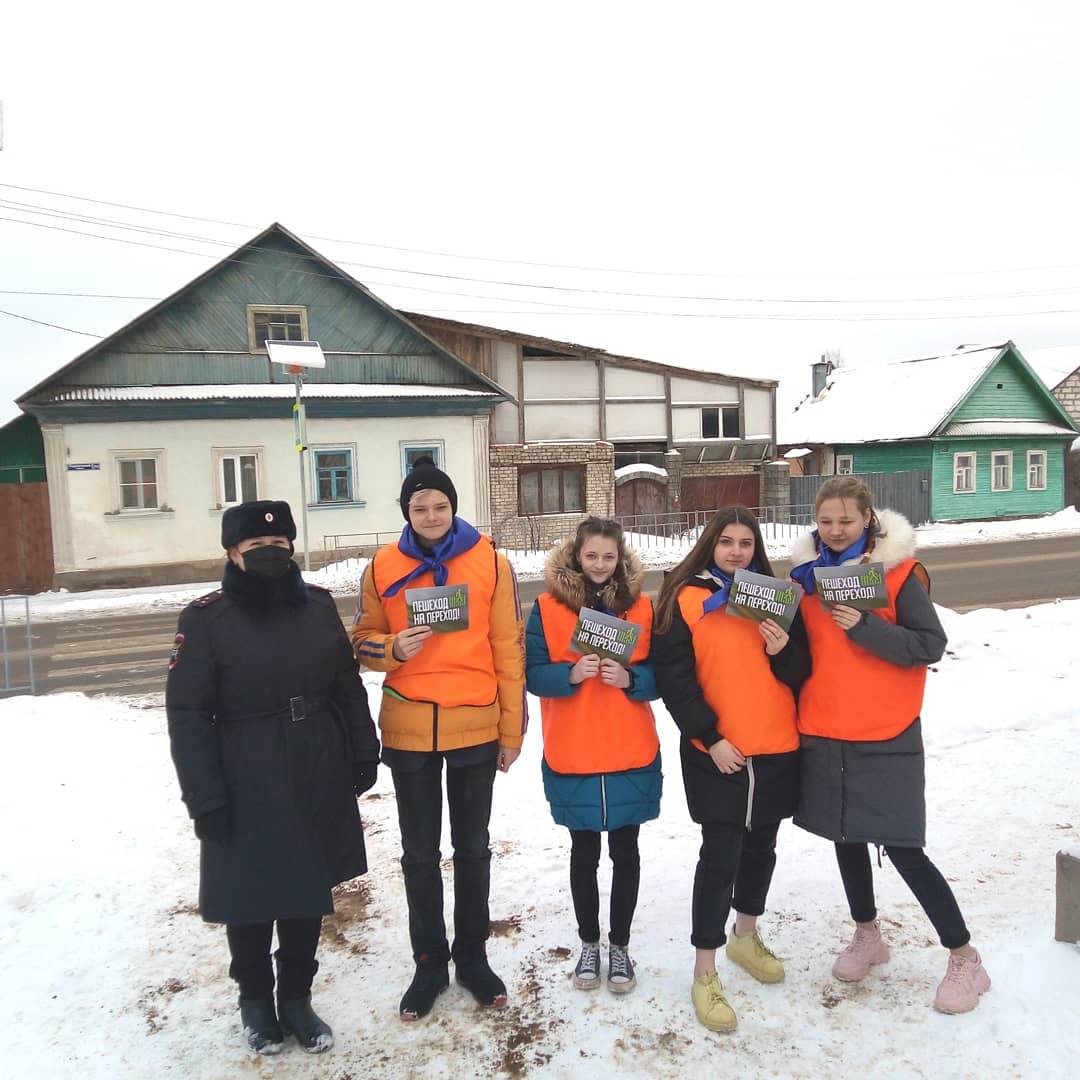 В Ржеве прошла акция «Пешеход — на переход!»