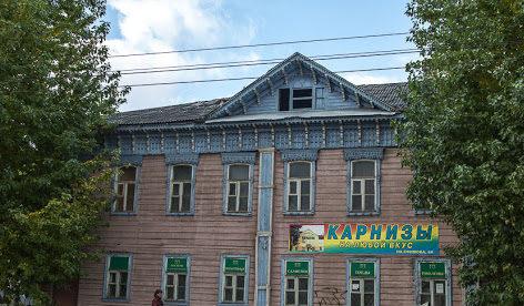 Старинный деревянный дом сгорел в Затьмачье в Твери