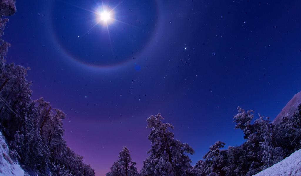 Этой ночью жители Тверской области смогут увидеть рождественскую звезду
