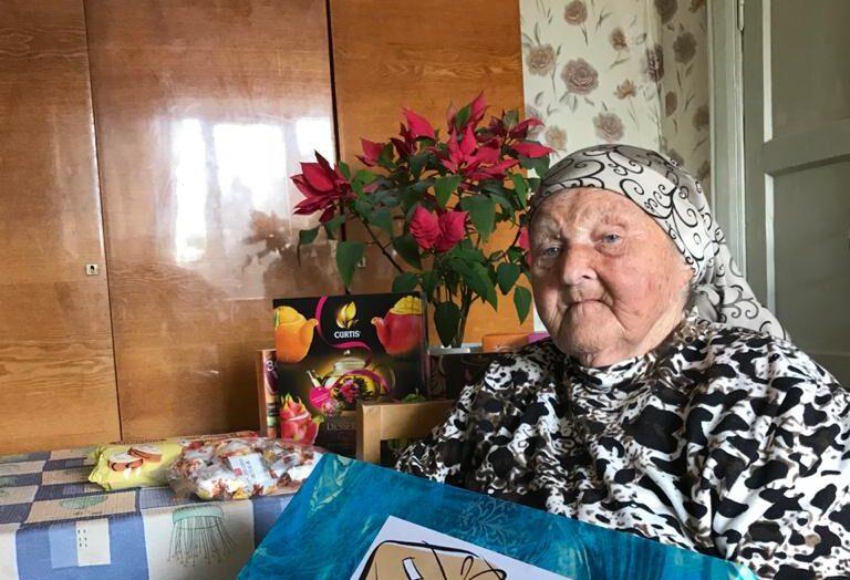 Игорь Руденя поздравил со столетием участницу Великой Отечественной войны Нину Андреевну Понамарёву