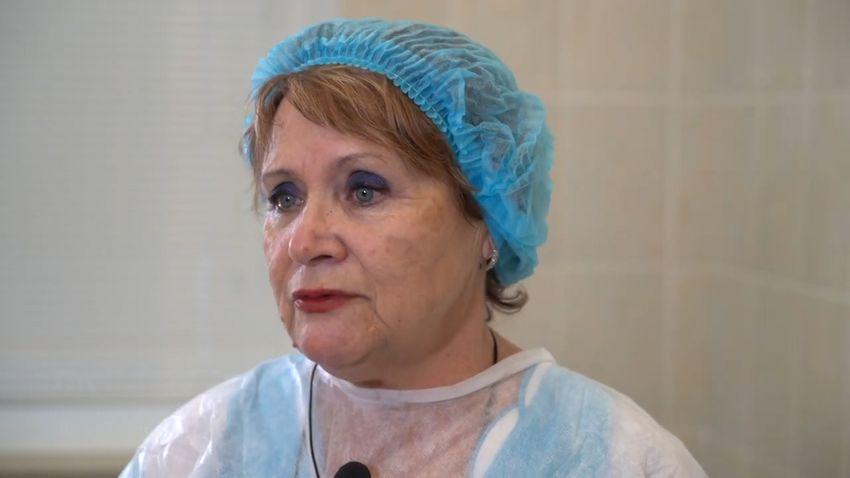 Медсестра Любовь Шарипова призывает жителей Тверской области не отказываться от прививки против коронавируса