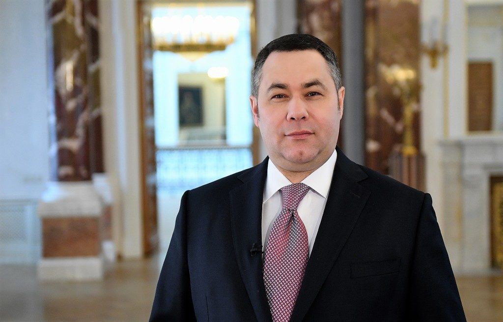 Игорь Руденя поздравил жителей области с Днем космонавтики