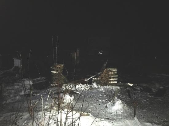 Под Тверью после пожара нашли труп мужчины