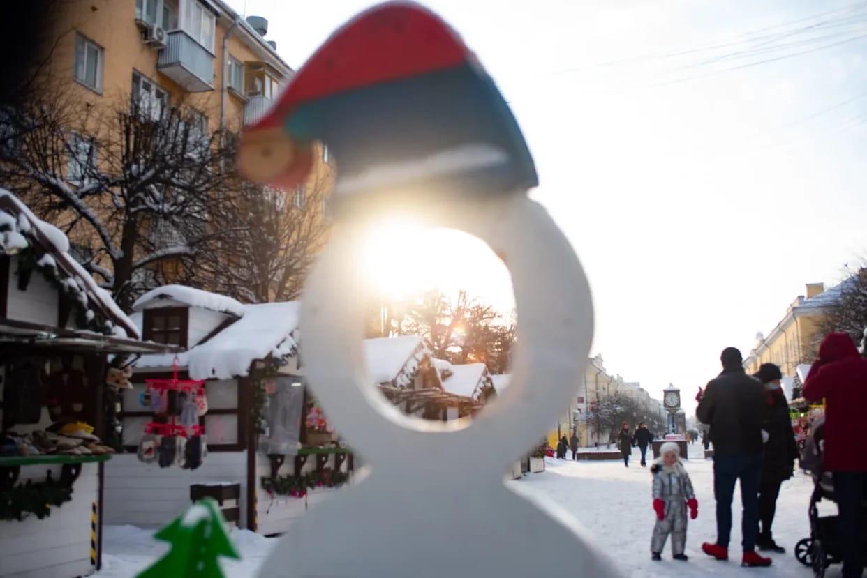 В Твери Рождественская ярмарка последний раз радует глаз в этом году