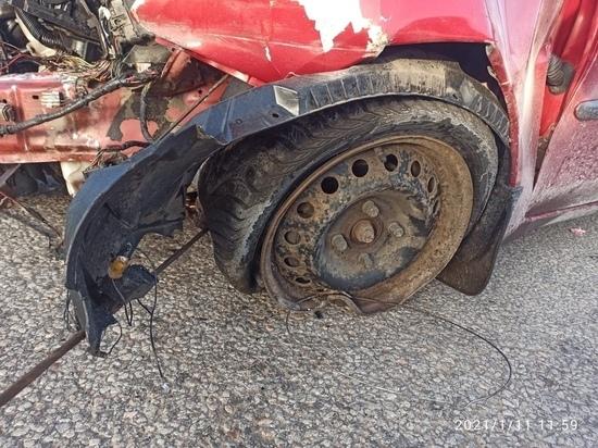 В Тверской области в аварии пострадала маленькая девочка