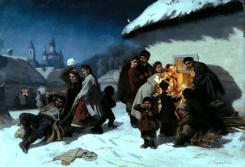 В Тверской области в один из новогодних вечеров отзвучали русские святочные рассказы