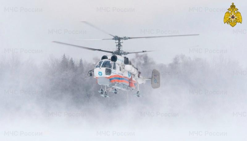 Пациента из Вышневолоцкого района перевезли в Тверь на вертолете
