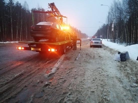 В Тверской области поймали пьяного водителя
