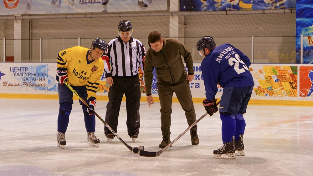В Тверской области на катке «Конаковский лёд» пройдут соревнования по хоккею