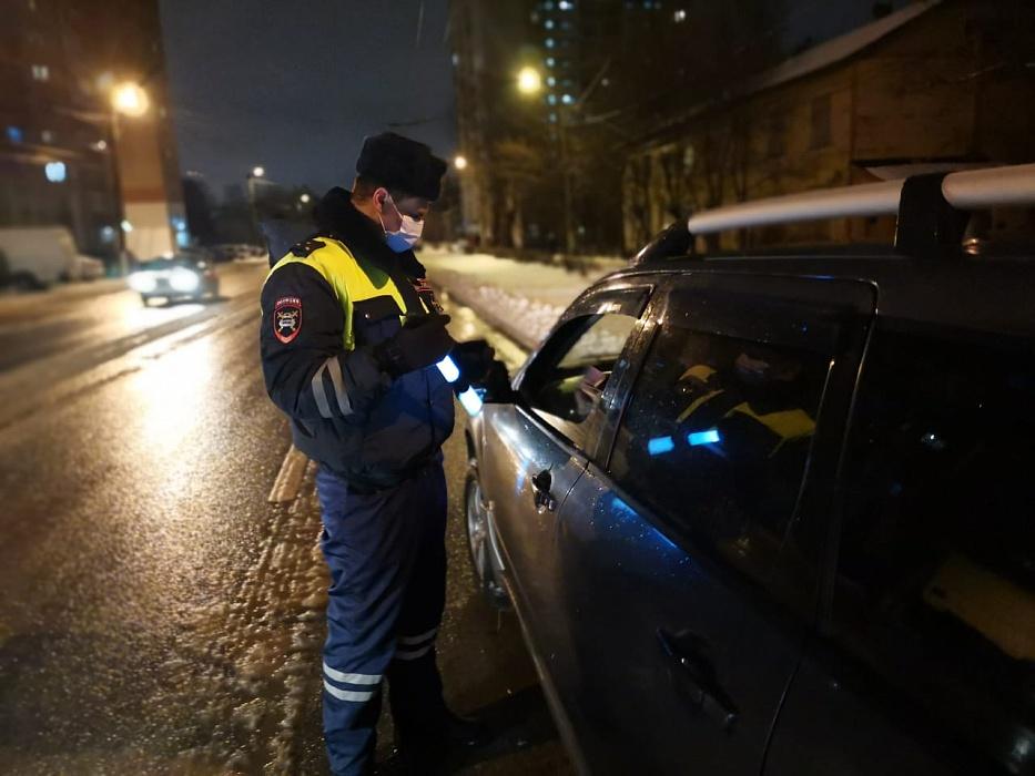 В Тверской области продолжают ловить нетрезвых водителей