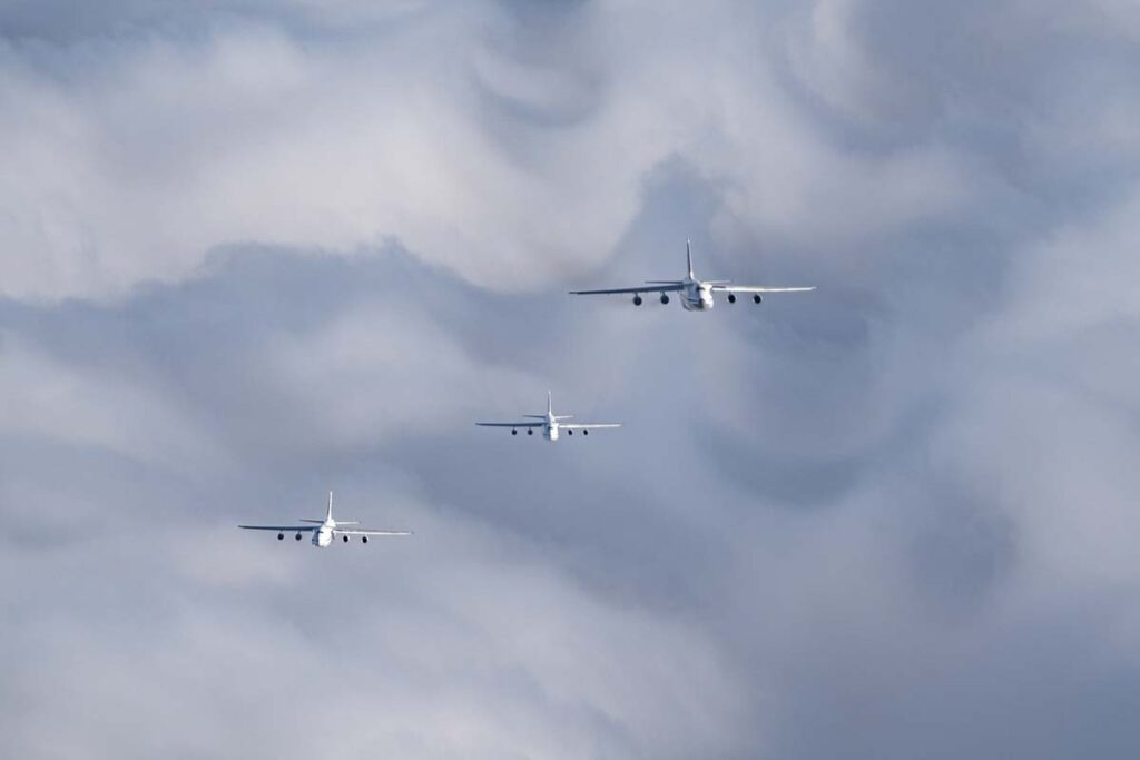 Самолёт из Твери стал частью исторического события