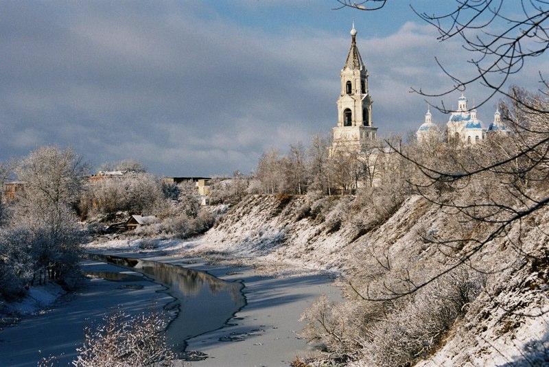 В Тверской области через реку Кашинка возвели временный мост