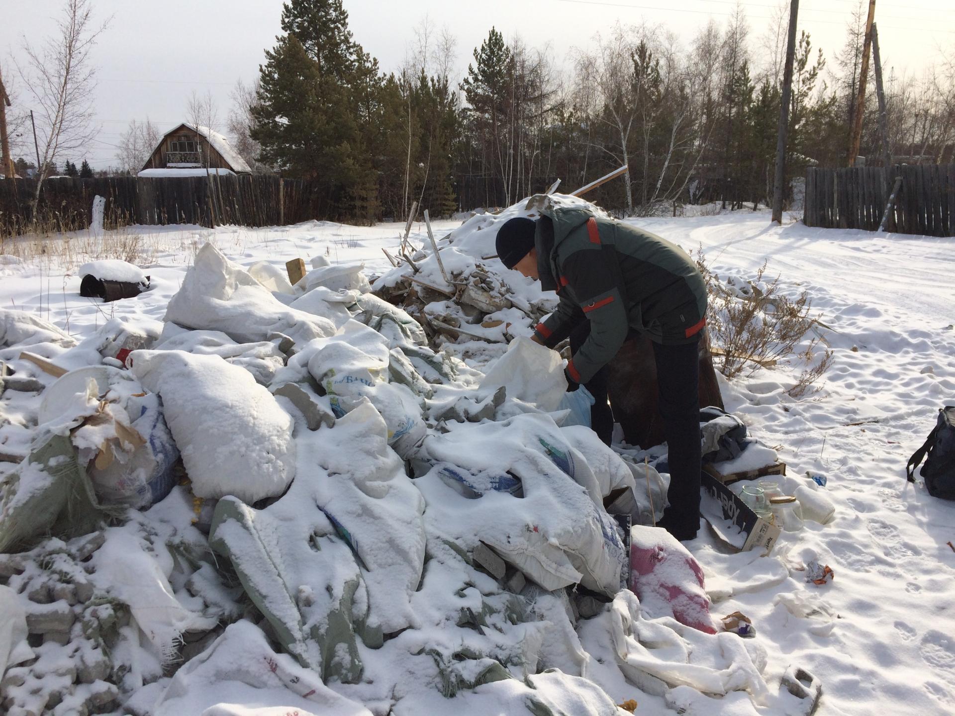 В Тверской области убрали незаконную свалку