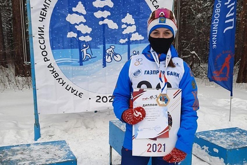 Спортсменка из Конаково стала чемпионкой России по зимнему триатлону
